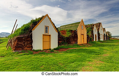 Old traditional Icelandic farm - Glaumber - Old traditional ...