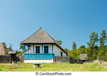Traditional Romanian Village House