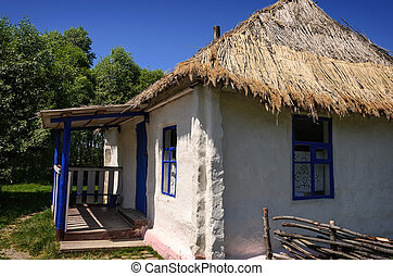 Old traditional wooden house