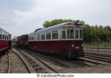 old tram in Holland