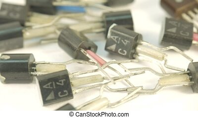 Old transistors, the times of the USSR
