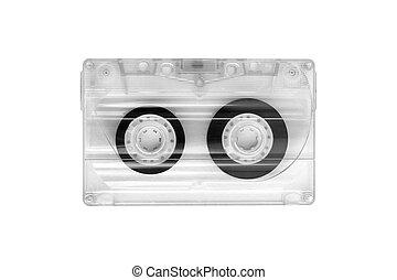 old transparent tape cassette