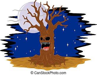 old tree creepy
