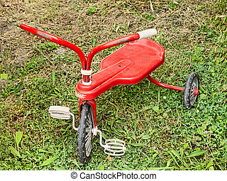 old tricycle for children