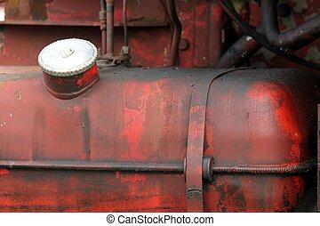 old truck fuel tank