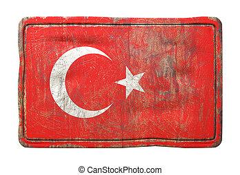 Old Turkey flag