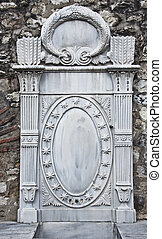 Old Turkish Marble Carving
