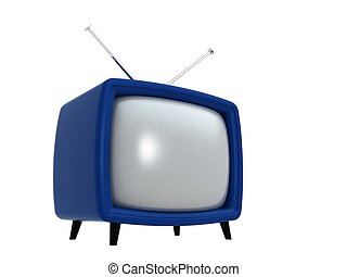 Old TV | 3D - Old TVs [3D Electronics Series]