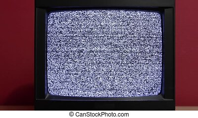 Old TV no signal - No signal just noise on two vintage TV...