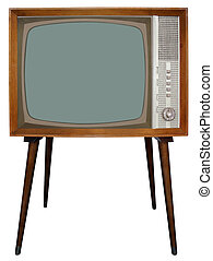 Old TV - The Old Nostalgic BW Television