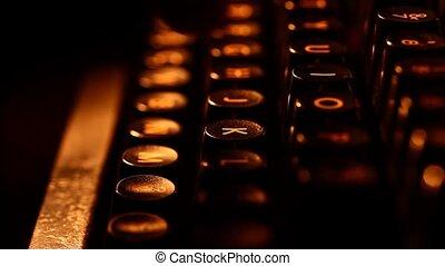 Typewriter - Old Typewriter