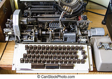 Old Typewriter Machine