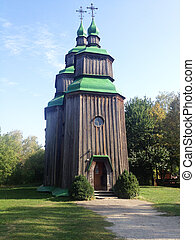 Old Ukrainian church, Pirogovo