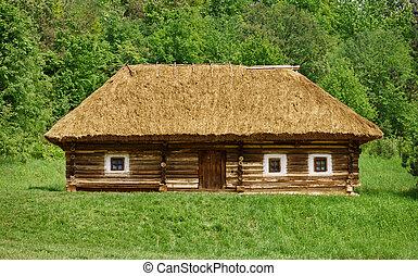 Old ukrainian rural house