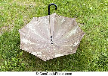 old umbrella