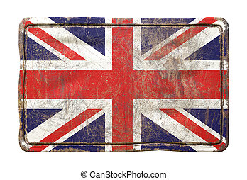 Old United Kingdom flag