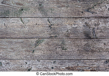 Old unpainted wooden boards background