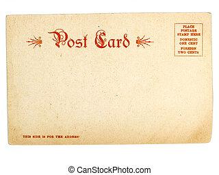 Old USA postcard