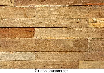 old used wood on the floor