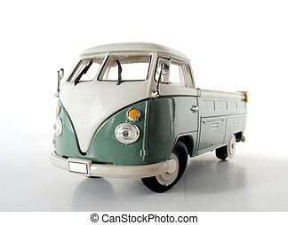 Old van that has seen his best days