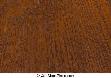 Old Varnished Oak Plank - A closeup of an old oak plank...