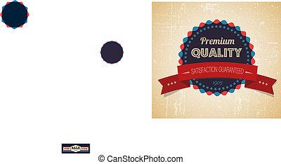 Old vector sale retro vintage grunge label