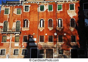 Old Venetian building in Campo San Vidal