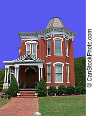 Old Victorian house 3053