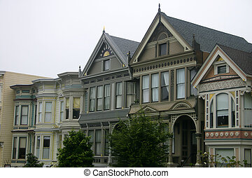 Old Victorian Houses