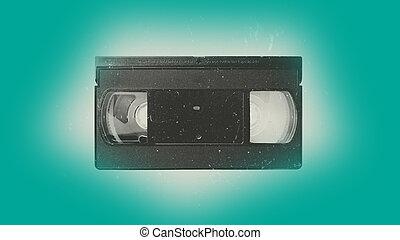 Old video cassette