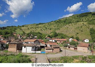 Old village at Balkan Mountain (Stara Planina) National Park in Serbia Europe