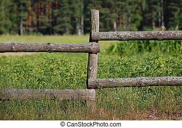 Old village fence