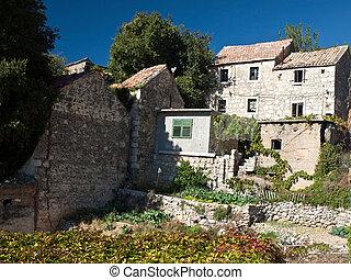 Old village in Dalmatia