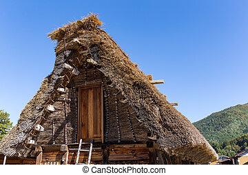 Old village in Japan