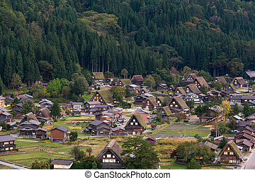 Old village in Shirakawago