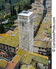 San Gimignano Toscana Italy