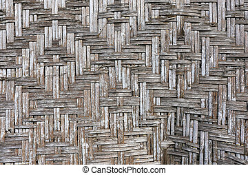 old vintage bamboo wave background