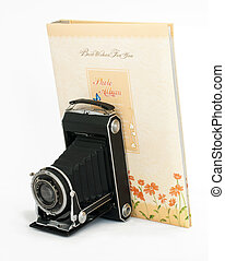 Old vintage camera and Photo Album