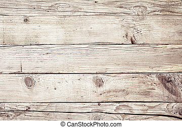 Old vintage faded natural wood background texture
