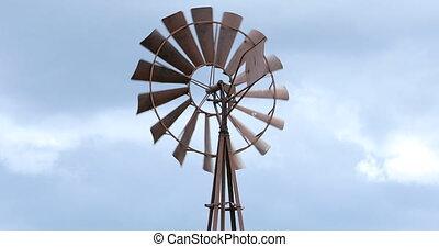 Australian Windmill - Old Vintage Farm Metal Australian...