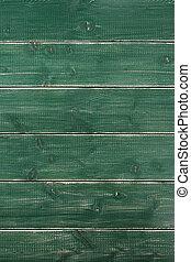 Old vintage green wood background texture vertical