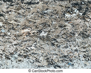 old vintage grey stone wall texture as background