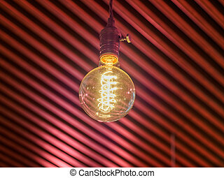 Old vintage lamp