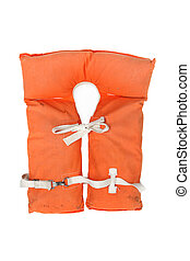 Old vintage life jacket