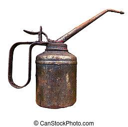 Old Vintage Oil Can