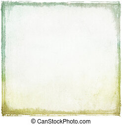 Old vintage paper background with grungy border