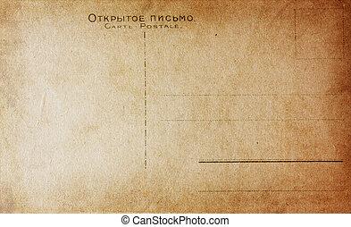 old vintage post card