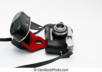 old vintage retro camera