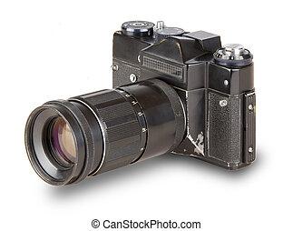 old, vintage, retro camera