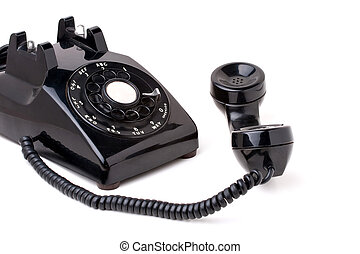 Old Vintage Telephone Off the Hook